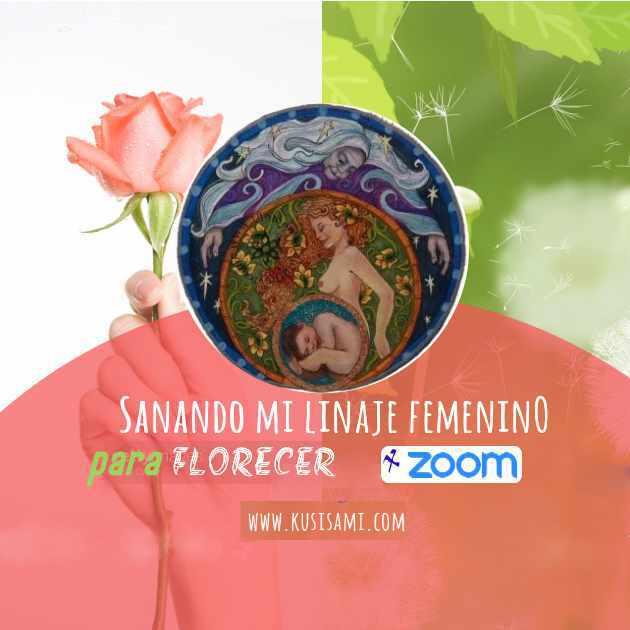 Sanando mi linaje femenino para florecer, ancestras, arbol genealógico, Kusisami, Patrizia Valdiviezo